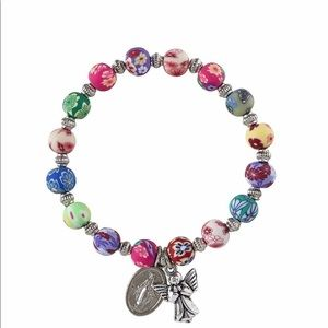 Colorful Guardian Angel Bracelet